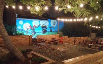 Huni Hour at Recess Beer Garden